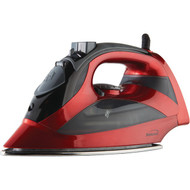 BRENTWOOD MPI-90R Steam Iron with Auto Shutoff (Red) (R-BTWMPI90R)