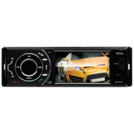 "Boss Single Din 3.6"" Full Detachable Face DVD/MP3/CD AM/FM Receiver  with USB/SD (R-BV7943)"