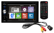"""Boss Double Din 6.2"""" Lcd Touchscreen With Back Up Camera In 1 Gift Box (R-BVNV9384RC)"""