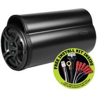 "BAZOOKA BTA8100FHC BT Series 100-Watt Amplified Tube Subwoofer with FAST (8"") (R-BZKBTA8100FHC)"