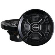 "BAZOOKA MAC6510B Marine 2-Way Coaxial Speakers (6.5"", Black) (R-BZKMAC6510B)"