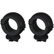 """BAZOOKA MT-CL2-B 2"""" Marine Tubbie Swivel Clamps (Black) (R-BZKMTCL2B)"""