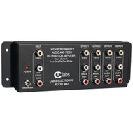 CE LABS AV 400 Prograde Composite A/V Distribution Amp (1 input - 4 output) (R-CEIAV400)