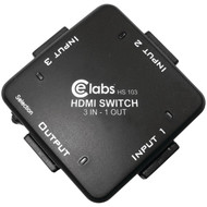 CE LABS HS103 3-In, 1-Out Auto HDMI(R) Switcher (R-CEIHS103)