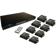 CE LABS HSW88C 8 x 8 HDMI(R) Over CAT-6 Matrix Switcher Package (R-CEIHSW88C)