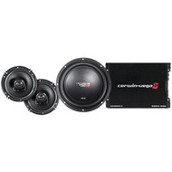 CERWIN-VEGA MOBILE CVM-SS3 Deluxe Car Audio Party-Pack Sound System (R-CERCVMSS3)