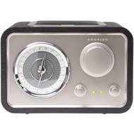 CROSLEY RADIO CR3003A-BK Solo Radio (R-COYCR3003ABK)