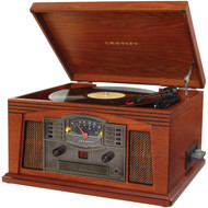 CROSLEY RADIO CR42C-PA Lancaster Musician Entertainment Centers (Paprika) (R-COYCR42CPA)