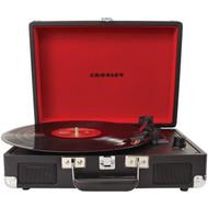 CROSLEY RADIO CR8005A-BK Cruiser Portable Turntables (Black) (R-COYCR8005ABK)