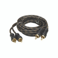 Audiopipe 24kt Gold Plated Interconnect Cable 6ft (R-CPP6)