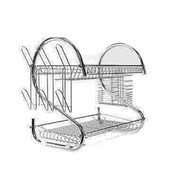 Cookinex 2 Layer Dish Rack W/Cutlery Holder (R-CT112)