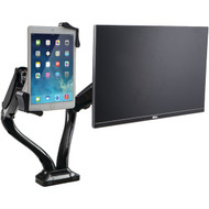 CTA Digital PAD-2AMT 2-in-1 Adjustable Monitor & iPad(R)/Tablet USB Hub (R-CTAPAD2AMT)