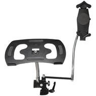 CTA Digital PAD-DLT Heavy-Duty Dual Gooseneck Clamp Stand (R-CTAPADDLT)