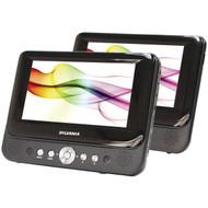 """SYLVANIA SDVD8737A 7"""" Dual-Screen Portable DVD Player (R-CURSDVD8737A)"""