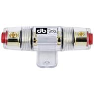 DB LINK AGUFH1X Gold-Plated 4/8-Gauge AGU Fuse Holder (R-DBDAGUFH1X)