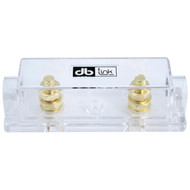 DB LINK ANLFH2X Gold-Plated 0/4-Gauge ANL Single Fuse Holder (R-DBDANLFH2X)