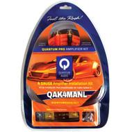 QUANTUM QAK4MANL Amp Installation Kit with ANL Fuse Holder (4 Gauge, 60A Mini ANL Fuse, Mini ANL Fuse Holder) (R-DBDQAK4MANL)
