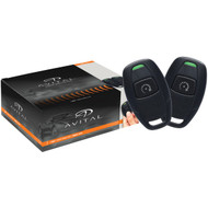 AVITAL 4115L 4115L Remote-Start System with Two Microsized 1-Button Remotes (R-DEI4115L)