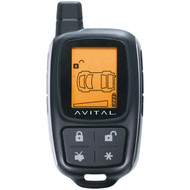 AVITAL 7345L 7345L LCD 2-Way 4-Button Replacement ASK Transmitter (R-DEI7345L)