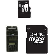 DANE-ELEC DA-3IN1-16G-R microSD(TM) Card (16GB) (R-DEMDA3IN116GR)