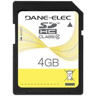 DANE-ELEC DA-SD-4096-R SD(TM) Card (4GB) (R-DEMDASD4096)