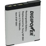 DIGIPOWER BP-BN1A Sony(R) NP-BN1 Digital Camera Replacement Battery (R-DGPBPBN1A)