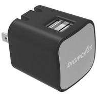 DIGIPOWER IS-AC2D InstaSense(TM) 2.4-Amp Dual-USB Wall Charger (R-DGPISAC2D)