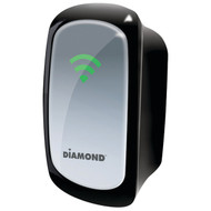 DIAMOND WR300NSI Wireless 802.11 300Mbps Range Extender/Repeater with Signal Indicator (R-DMMWR300NSI)