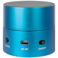 ISOUND ISOUND-1685 Fire Mini Wired Rechargeable Portable Speaker (Blue) (R-DRM1685)