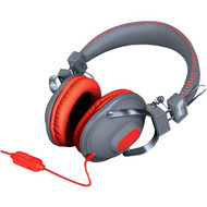 DREAMGEAR DGHM-5518 HM-260 Headphones with Microphone (Red) (R-DRM5518)