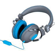 DREAMGEAR DGHM-5519 HM-260 Headphones with Microphone (Blue) (R-DRM5519)