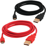 DREAMGEAR ISOUND-6773 Micro USB Cables, 5ft, 2 pk (R-DRM6773)