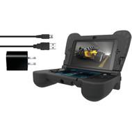 DREAMGEAR DG3DSXL-2273 Nintendo 3DS(R) XL Power Play Kit (Black) (R-DRMXL2273)