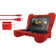 DREAMGEAR DG3DSXL-2275 Nintendo 3DS(R) XL Power Play Kit (Red) (R-DRMXL2275)