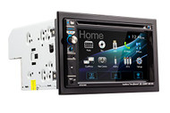 Dual DV635MB Double-DIN Multimedia DVD Receiver with Bluetooth and 2-Way DualMirror (R-DV635MB)