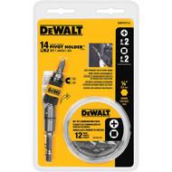 Dewalt 14Pc Pivot Holder Screwdriving Set (R-DWPVTC14)