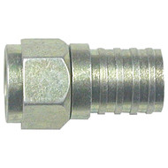 EAGLE ASPEN 500285 RG6 Zinc-Plated Connectors with O-Ring & Gel, 100 pk (R-EASFC6WPGB)