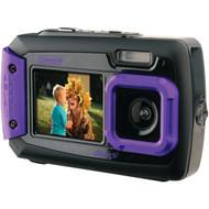 COLEMAN 2V9WP-P 20.0-Megapixel Duo2 Dual-Screen Waterproof Digital Camera (Purple) (R-ELB2V9WPP)