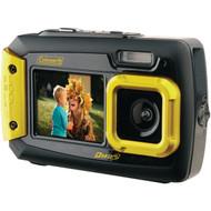 COLEMAN 2V9WP-Y 20.0-Megapixel Duo2 Dual-Screen Waterproof Digital Camera (Yellow) (R-ELB2V9WPY)