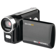 BELL+HOWELL DV200HD 5.0-Megapixel DV200HD 720p HD Digital Video Camcorder (R-ELBDV200HD)