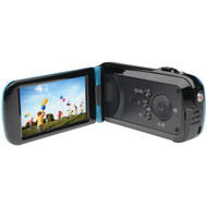 BELL+HOWELL DV7HD-BL 16.0-Megapixel Slice II DV7HD Ultraslim 1080p HD Camcorder (Blue) (R-ELBDV7HDBL)