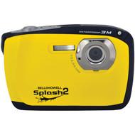 BELL+HOWELL WP16-Y 16.0-Megapixel WP16 Splash2 HD Waterproof Digital Camera (Yellow) (R-ELBWP16Y)