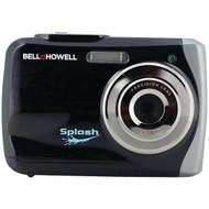 BELL+HOWELL WP7-BK 12.0-Megapixel WP7 Splash Waterproof Digital Camera (Black) (R-ELBWP7BK)