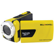 BELL+HOWELL WV30HD-Y 16.0-Megapixel 1080p SplashHD Waterproof Digital Video Camcorder (R-ELBWV30HDY)