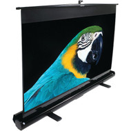 "ELITE SCREENS F120NWH 16:9 ezCinema Series Floor-Standing Pull-up Projector Screen (120""; 59.1"" x 105"") (R-ELTF120NWH)"