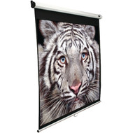 "ELITE SCREENS M100H 100"" Manual Pull-down B Series Projection Screen (16:9 format; 49"" x 87"") (R-ELTM100H)"