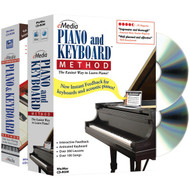 EMEDIA EK02131 Piano & Keyboard Method Deluxe 2-Volume Bundle (R-EMUEK02131)