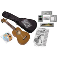 EMEDIA MUSIC EU08154 Ukulele Beginner Pack for Adults (R-EMUEU08154)
