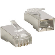 ETHEREAL C6T-SH 8P8C RJ45 Jacks for Shielded CAT-6 Cable (R-ETHC6TSH)
