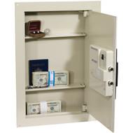 FIRST ALERT 2070AF Adjustable Antitheft Wall Safe with Digital Lock (R-FAT2070AF)
